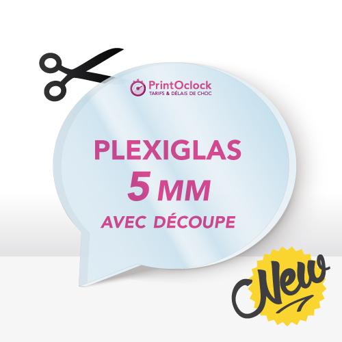 Plaques en Plexiglas (PMMA 5MM)