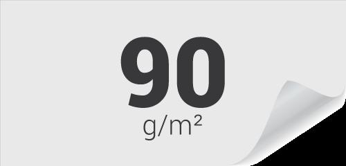 90g Couché Mat