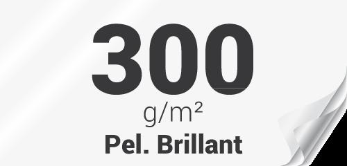 Couverture premium 300g pelliculage brillant