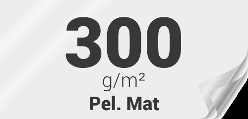 Couverture premium 300g pelliculage mat