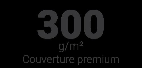 Couverture premium 300g