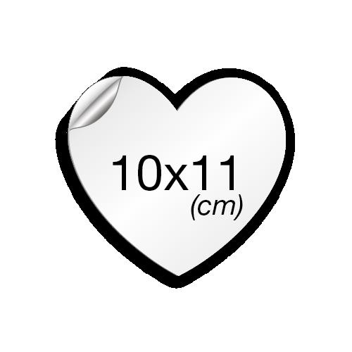 Cœur 11x10