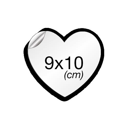 Cœur 10x9