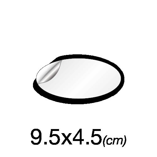 Ovale 4,5x9,5