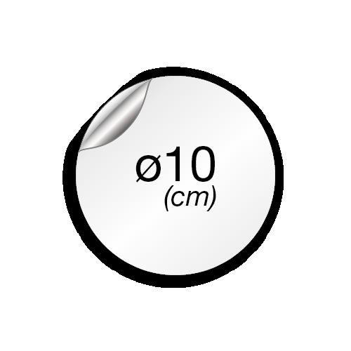 10 cm de diamètre