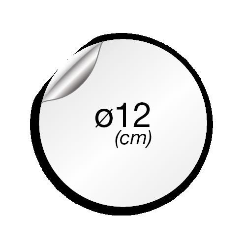 12 cm de diamètre