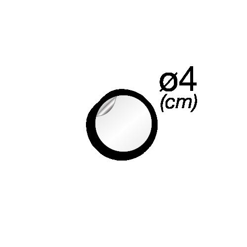 4 cm de diamètre