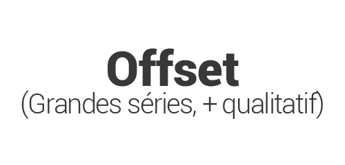 Offset (le plus qualitatif)