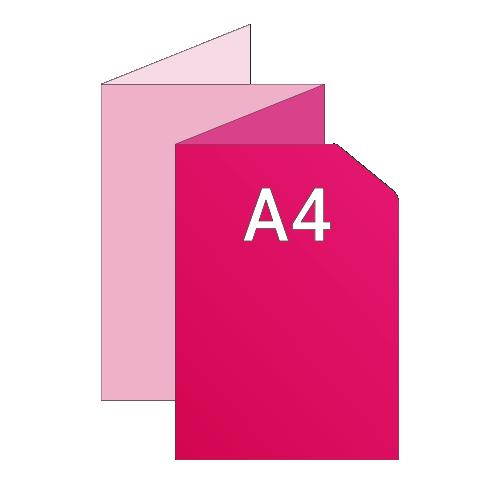 84x29,7 ouvert / A4 fermé