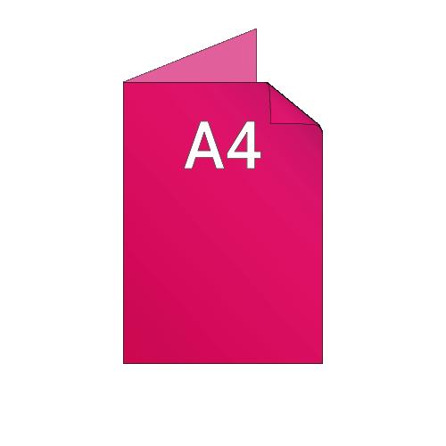 A3 ouvert / A4 fermé