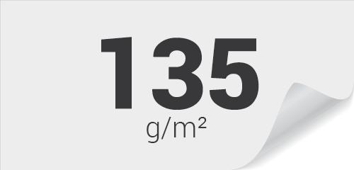 135g Couché Demi-Mat (satiné)