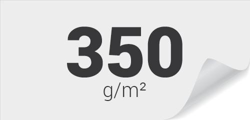 350g Couché Demi-Mat (satiné)