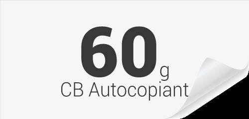 60g CB autocopiant