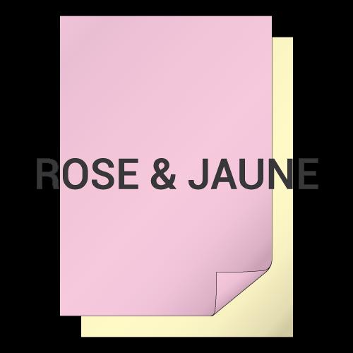 Rose et Jaune