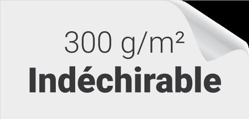 Papier indéchirable 300g