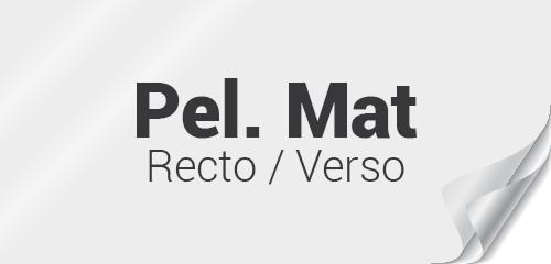 Pelliculage Mat recto verso